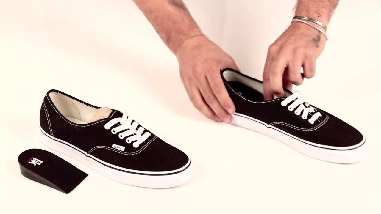 How to Get Taller - Hidden Shoe Lifts by LiftKits Insoles - YouTube