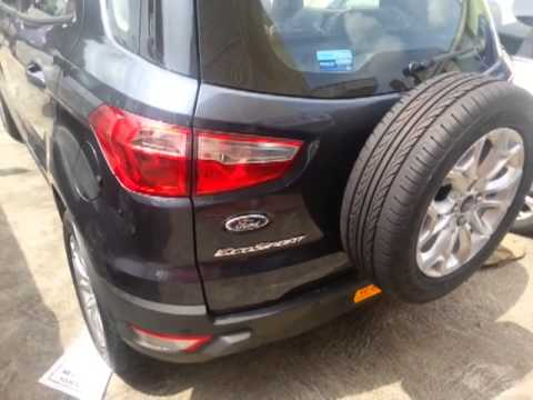 Ford ecosport titanium diesel . Full but short