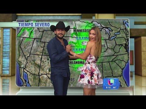 Jerry Bazúa bailó el weather con Ximena Córdoba