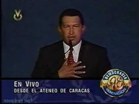 LEGADO DEL CMDTE. Chávez en su primera Rueda de Prensa 06-DIC-1998