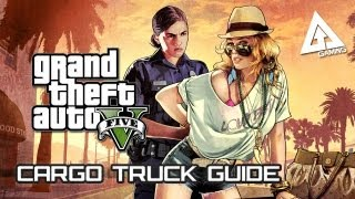 GTA 5 Cargo Truck Guide How To Open The Back Doors