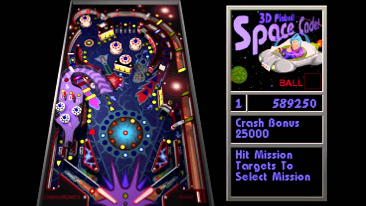 space cadet pinball online
