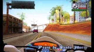 HORNET BRANCA+XJ6 CADELA NEGRA KLE621 GTA