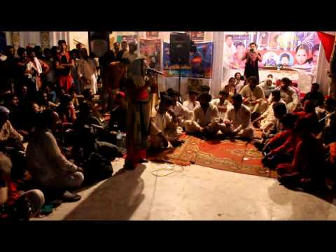 AINEY GOHAR - live performance in Sehwan Sharif 2014 -sangat hafizabad part 1 - Click By UMAR JATT