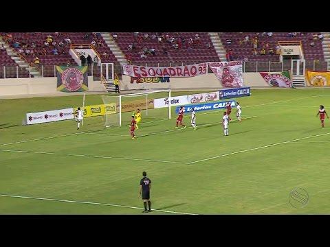 Sergipe 1x2 Itabaiana - Hexagonal do Campeonato Sergipano
