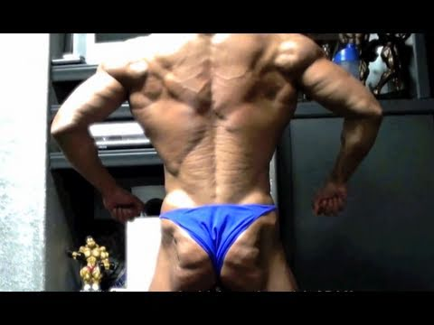 4 weeks out from MUSCLE MAYHEM \\ posing w/ TEAM 3DMJ \\ amateur posing & PRO posing