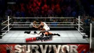 WWE 2K14 (PS3) Big E Langston Vs Curtis Axel Survivor