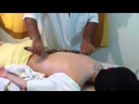 Bambuterapia - manobras com a haste