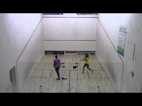 2014 Barbados National Squash Championships - Mens Final - Bryant Cumberbatch vs Shawn Simpson