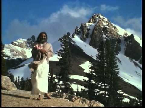 Maharishi at Lake Louise, 1968