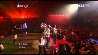 Big Bang - Run to you (DJ DOC) - 20071218 SBS Music Space