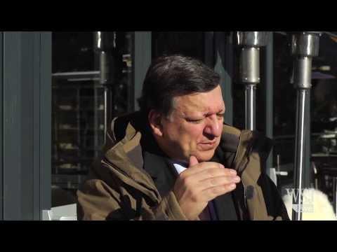 Barroso Talks Europe, Ukraine, High Energy Prices