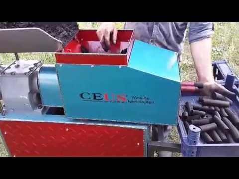 Nargile Kömürü Makinası , Mangal Kömürü Makinası , CM-100