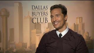 DALLAS BUYERS CLUB Interviews: Matthew McConaughey And