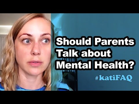 Should parents talk to their children about their mental health?!?