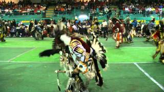 Loon Lake Powwow 2011, Mens Traditional, 1st Song, Sunday
