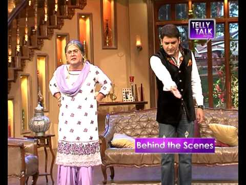 UNCUT Comedy Nights with Kapil : Ali Asgar as Kapil Sharma's Grandmother in the show