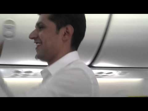 Spicejet holi fest on-air. SG876 march 17th 2014