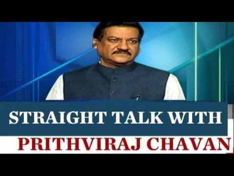 Straight Talk with Prithviraj Chavan