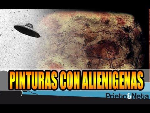 PINTURAS DE 10.000 AÑOS CON OVNIS Y ALIENÍGENAS