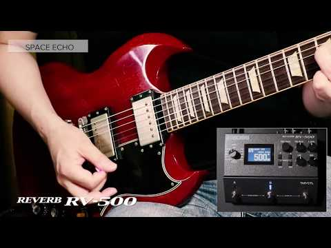 Boss RV-500 Digital Reverb Effects Pedal (Pre-order)
