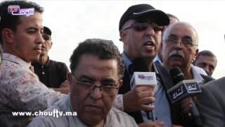 تشييع جثمان والدة المنوزي إلى مثواها الأخير بمقبرة الشهداء بالبيضاء |