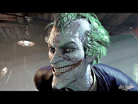 Batman Arkham Asylum Story All Cutscenes Movie
