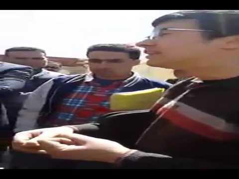 نشطاء ترجيست في حوار مع والي الجهة محمد اليعقوبي