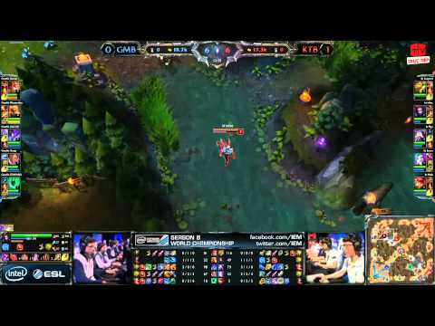 [15.03.2014][Game2] GMB vs KTB [IEM 8 2014]
