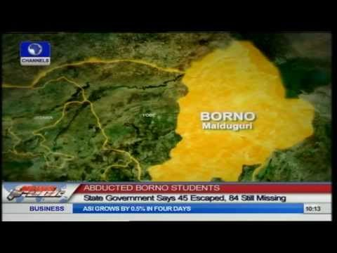 Abducted Borno Students: State Government Says 45 Escaped, 84 Still Missing