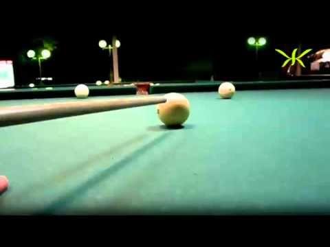 Посмотреть ролик - Видео ЖТВ : Крученые шары в бильярде. как за