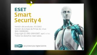 Como Descargar Instalar Y Registrar ESET Smart Security 4