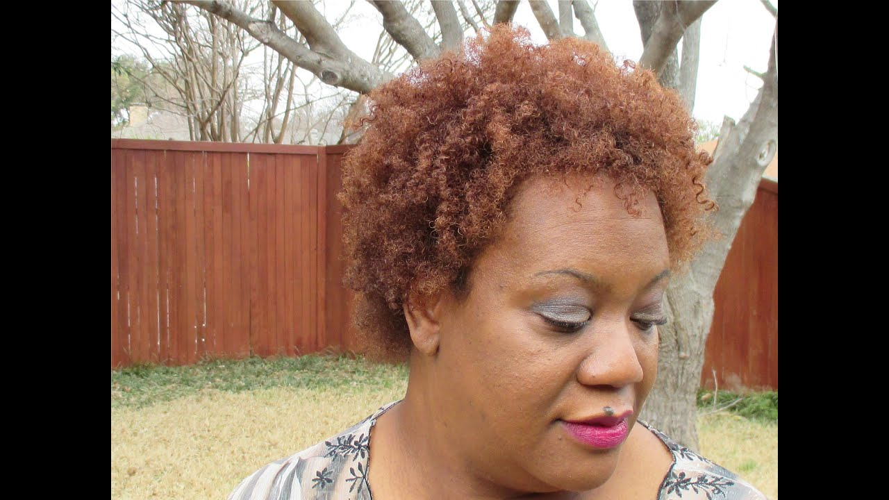 Review Of Shea Moisture Hair Color System - YouTube