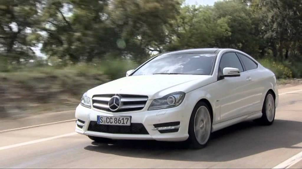 2012 diamond white mercedes benz c220 cdi coupe youtube. Black Bedroom Furniture Sets. Home Design Ideas