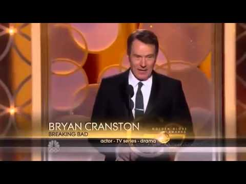 Golden Globes 2014 - Bryan Cranston wins Best Performance by an Actor in a Television Series (Drama)