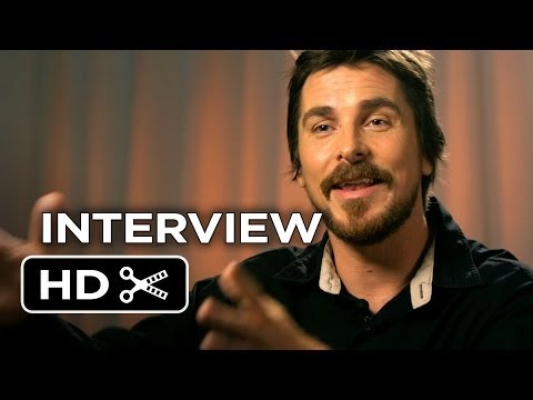 American Hustle Interview - Christian Bale (2013) - Jennifer Lawrence Movie HD