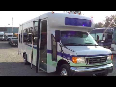 Northwest Bus Sales - 2006 Ford Startrans 16 Passenger + 2 Wheelchair ADA Shuttle - S07943