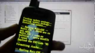 تحديث الهاتف Samsung Galaxy Mini للروم