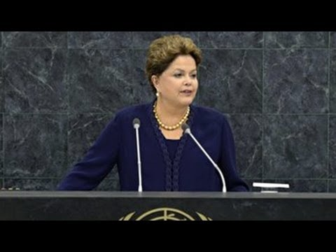 Brazilian President Dilma Rousseff's Full UN Address (2013)