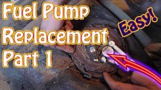 GMC Jimmy \ Chevy Blazer Fuel Tank RemovalFuel Pump