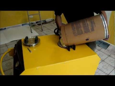 Jet Cryl - Máquina para aplicar textura e grafiato.