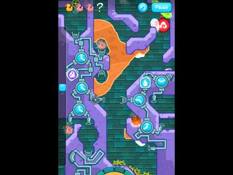 Where's my water  level 9 20 collectible #54 Rising tide Full of hot air 3 ducks walkthrough IPhone5