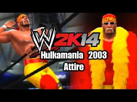 WWE 2K14 - Hulk Hogan Hulkamania 2003 Attire (Superstar Threads)