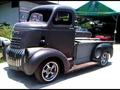 Custom COE 47' Chevy Rolling - YouTube
