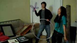 Hula Hoops and Boxing Gloves with Samantha Cutaran! view on youtube.com tube online.