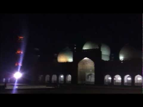 Lahore 2: Badshahi Mosque, Night Shot, Pakistan پاکستان
