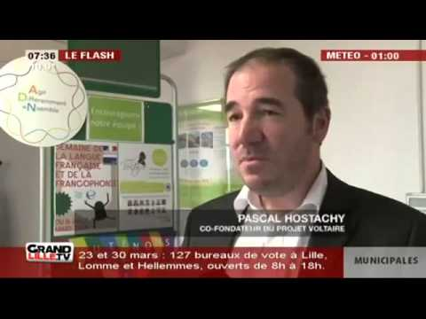 Projet Voltaire Orthographe - Grand Lille TV - Banque Accord