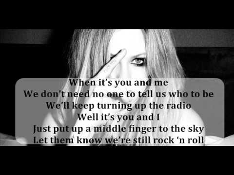 Avril Lavigne - Rock N Roll (full song + lyrics)