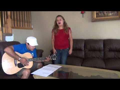 One Thing -Cover By Tanya Rivero with guitarist (my dad)