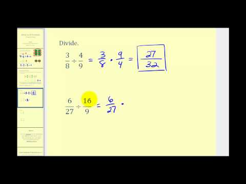 Dividing Fraction-Positives only